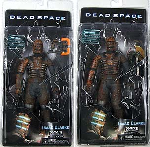 NECA PLAYER SELECT DEAD SPACE : ISAAC CLARKE 2種セット