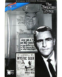 BIF BANG POW! THE TWILIGHT ZONE MYSTIC SEER BOBBLE HEAD