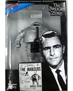 2009年サンディエゴ コミコン限定 BIF BANG POW! THE TWILIGHT ZONE THE INVADER BOBBLE HEAD