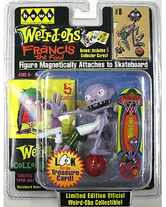 HAWK WEIRD-OHS MAGNETIC FIGURE FRANCIS THE FOUL