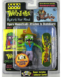 HAWK WEIRD-OHS MAGNETIC FIGURE HUEY'S HUT ROD