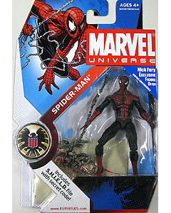 HASBRO MARVEL UNIVERSE SERIES 1 #032 SPIDER MAN [DARK BLUE & RED]