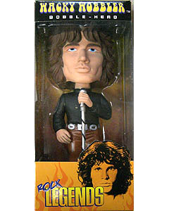 FUNKO WACKY WOBBLER ROCK LEGENDS JIM MORRISON LIZARD KING BOBBLE HEAD