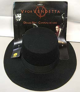 RUBIE'S製 V FOR VENDETTA V DX HAT