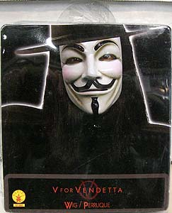 RUBIE'S製 V FOR VENDETTA V WIG(ウィッグ)
