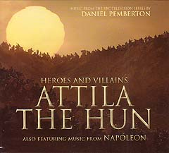 ATTILA THE HUN / NAPOLEON TV SERIES 2作収録