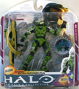 McFARLANE HALO 3 SERIES 6 AMAZON.COM EXCLUSIVE SPARTAN SOLDIER HAYABUSA [SAGE]