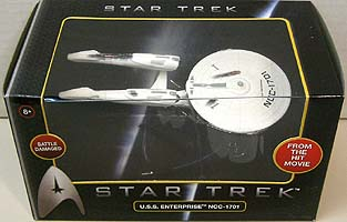 MATTEL HOT WHEELS STAR TREK 1/50スケール BATTLE DAMAGED U.S.S. ENTERPRISE NCC-1701