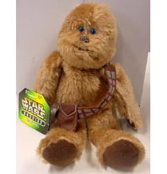 KENNER STAR WARS BUDDIES CHEWBACCA [BROWN BAG]