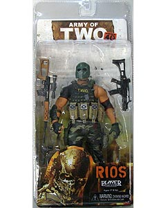 NECA PLAYER SELECT ARMY OF TWO THE 40TH DAY RIOS