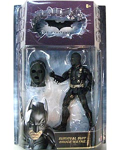 MATTEL BATMAN THE DARK KNIGHT オンライン限定 6インチ SURVIVAL SUIT BRUCE WAYNE