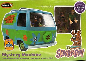 POLAR LIGHTS SCOOBY-DOO! MYSTERY MACHINE