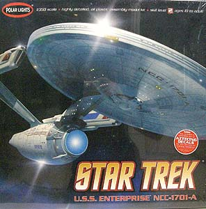 POLAR LIGHTS STAR TREK 1/350スケール U.S.S. ENTERPRISE NCC-1701-A