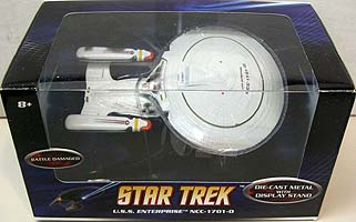 MATTEL HOT WHEELS STAR TREK 1/50スケール BATTLE DAMAGED U.S.S. ENTERPRISE NCC-1701-D