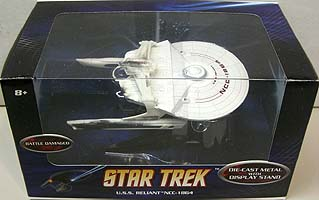 MATTEL HOT WHEELS STAR TREK 1/50スケール BATTLE DAMAGED U.S.S. RELIANT NCC-1864