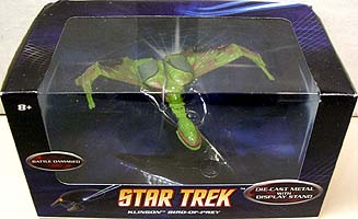 MATTEL HOT WHEELS STAR TREK 1/50スケール BATTLE DAMAGED KLINGON BIRD OF PREY