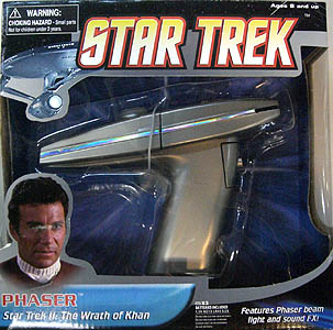 DIAMOND SELECT STAR TREK II THE WRATH OF KHAN PHASER