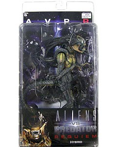NECA ALIEN VS PREDATOR REQUIEM SERIES 1 HYBRID 口開き