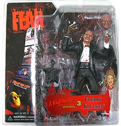 MEZCO CINEMA OF FEAR SERIES 1 A NIGHTMARE ON ELM STREET 3 DREAM WARRIORS FREDDY KRUEGER