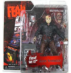 MEZCO CINEMA OF FEAR SERIES 1 FRIDAY THE 13TH -THE FINAL CHAPTER- JASON VOORHEES