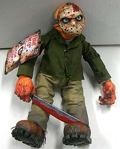 MEZCO CINEMA OF FEAR 14インチ PLUSH DOLL SERIES 1 FRIDAY THE 13TH -THE FINAL CHAPTER- JASON VOORHEES