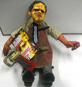 MEZCO CINEMA OF FEAR 14インチ PLUSH DOLL SERIES 1 THE TEXAS CHAINSAW MASSACRE LEATHERFACE