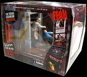 MEZCO CINEMA OF FEAR SCREEN GRABS SERIES 1 THE TEXAS CHAINSAW MASSACRE