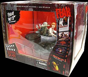 MEZCO CINEMA OF FEAR SCREEN GRABS SERIES 1 FRIDAY THE 13TH