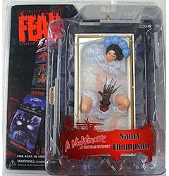 MEZCO CINEMA OF FEAR SERIES 2 A NIGHTMARE ON ELM STREET NANCY THOMPSON