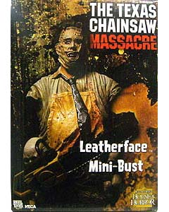 NECA THE TEXAS CHAINSAW MASSACRE LEATHERFACE MINI-BUST
