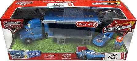 THE WORLD OF CARS RACE O RAMA TEAM DINOCO