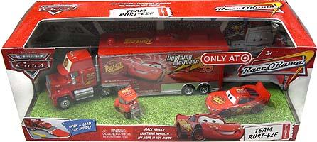 THE WORLD OF CARS RACE O RAMA TEAM RUST-EZE