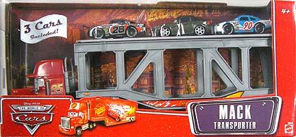 THE WORLD OF CARS MACK TRANSPORTER