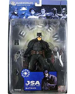 DC DIRECT ELSEWORLDS SERIES 4 JSA THE LIBERTY FILES BATMAN