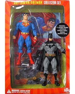 DC DIRECT SUPERMAN / BATMAN COLLECTOR SET