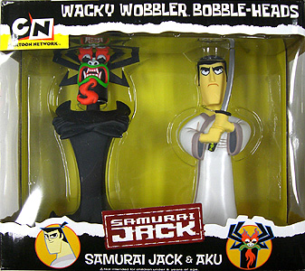 FUNKO WACKY WOBBLER SAMURAI JACK & AKU