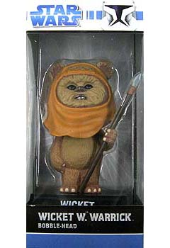 FUNKO WACKY WOBBLER WICKET W. WARRICK