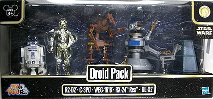 STAR WARS USAディズニーテーマパーク限定 DROID PACK [R2-D2 , C-3PO , WEG-1618 , RX-24