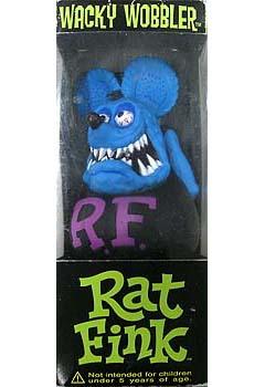 FUNKO WACKY WOBBLER RAT FINK BLUE FINK