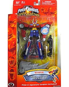 POWER RANGERS SUPER LEGENDS RETRO FIRE HIGH OCTANE MEGAZORD