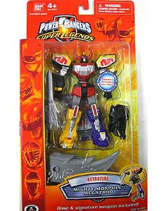 POWER RANGERS SUPER LEGENDS RETRO FIRE MIGHTY MORPHIN' MEGAZORD