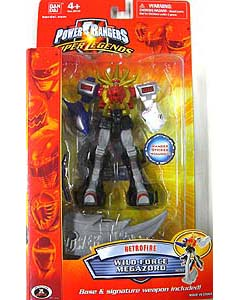 POWER RANGERS SUPER LEGENDS RETRO FIRE WILD FORCE MEGAZORD