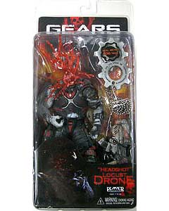 NECA GEARS OF WAR HEADSHOT LOCUST DRONE