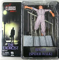 NECA CULT CLASSICS SERIES 7 THE EXORCIST REGAN [SPIDER-WALK]