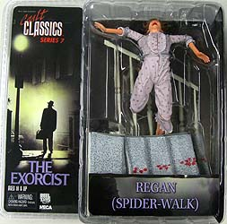 NECA CULT CLASSICS SERIES 7 THE EXORCIST REGAN [SPIDER-WALK] 血糊付き