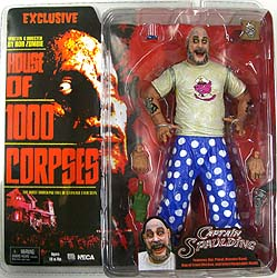 NECA HOUSE OF 1000 CORPSES EXCLUSIVE CAPTAIN SPAULDING [PIG T-SHIRTS]