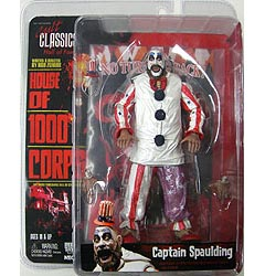 NECA CULT CLASSICS HALL OF FAME SERIES 3 HOUSE OF 1000 CORPSES CAPTAIN SPAULDING