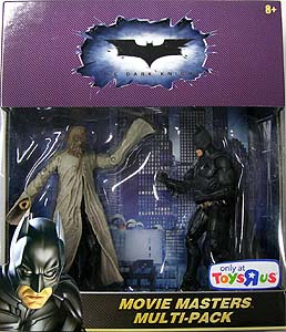 MATTEL BATMAN THE DARK KNIGHT 6インチ USAトイザラス限定 MOVIE MASTERS MULTI-PACK SCARECROW & BATMAN 2PACK