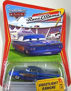 THE WORLD OF CARS RACE O RAMA シングル GHOSTLIGHT RAMONE