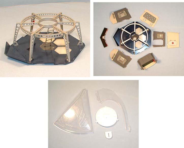 メビウスモデル 1/32スケール フライングサブ 組み立て式プラモデル